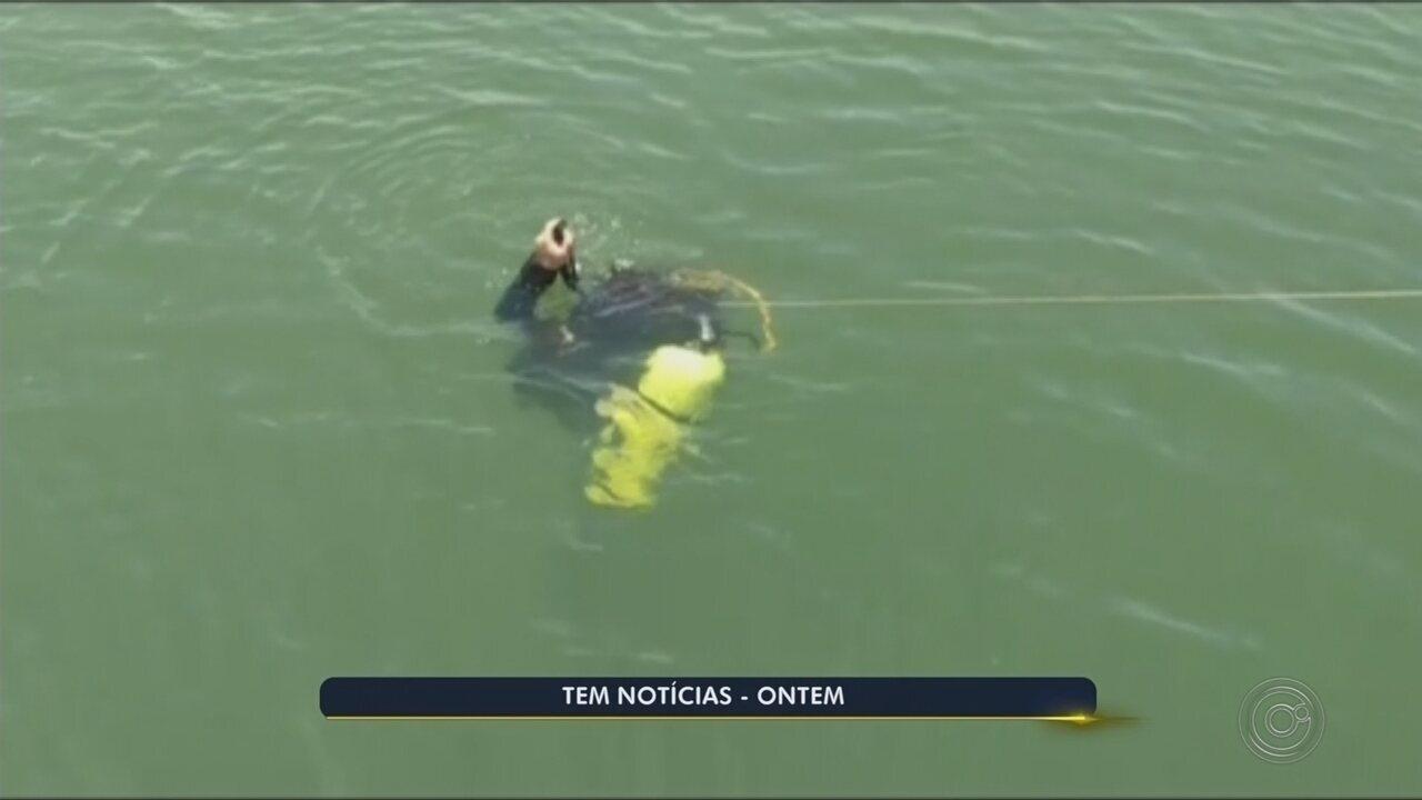 Bombeiros buscam pelo terceiro dia por homem que sumiu em represa de Itaí