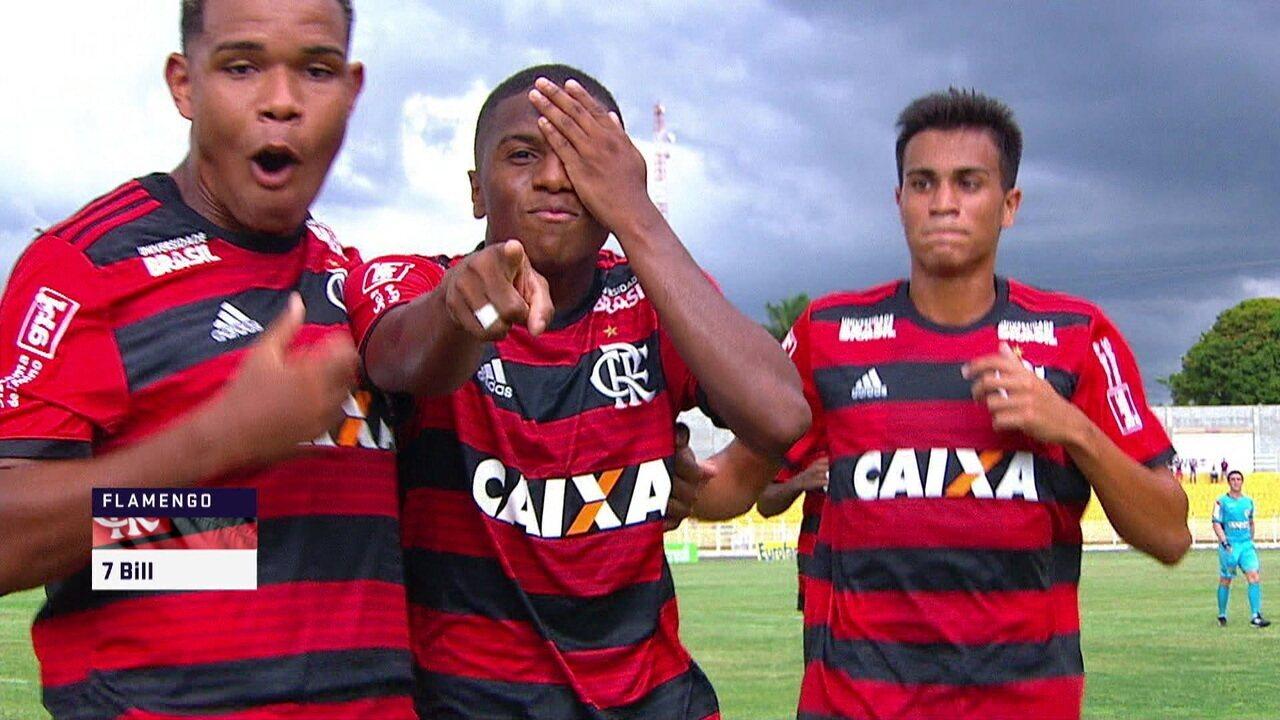 Os gols de Flamengo 4 x 0 River-PI pela Copa São Paulo de Futebol 80754e0b8109d