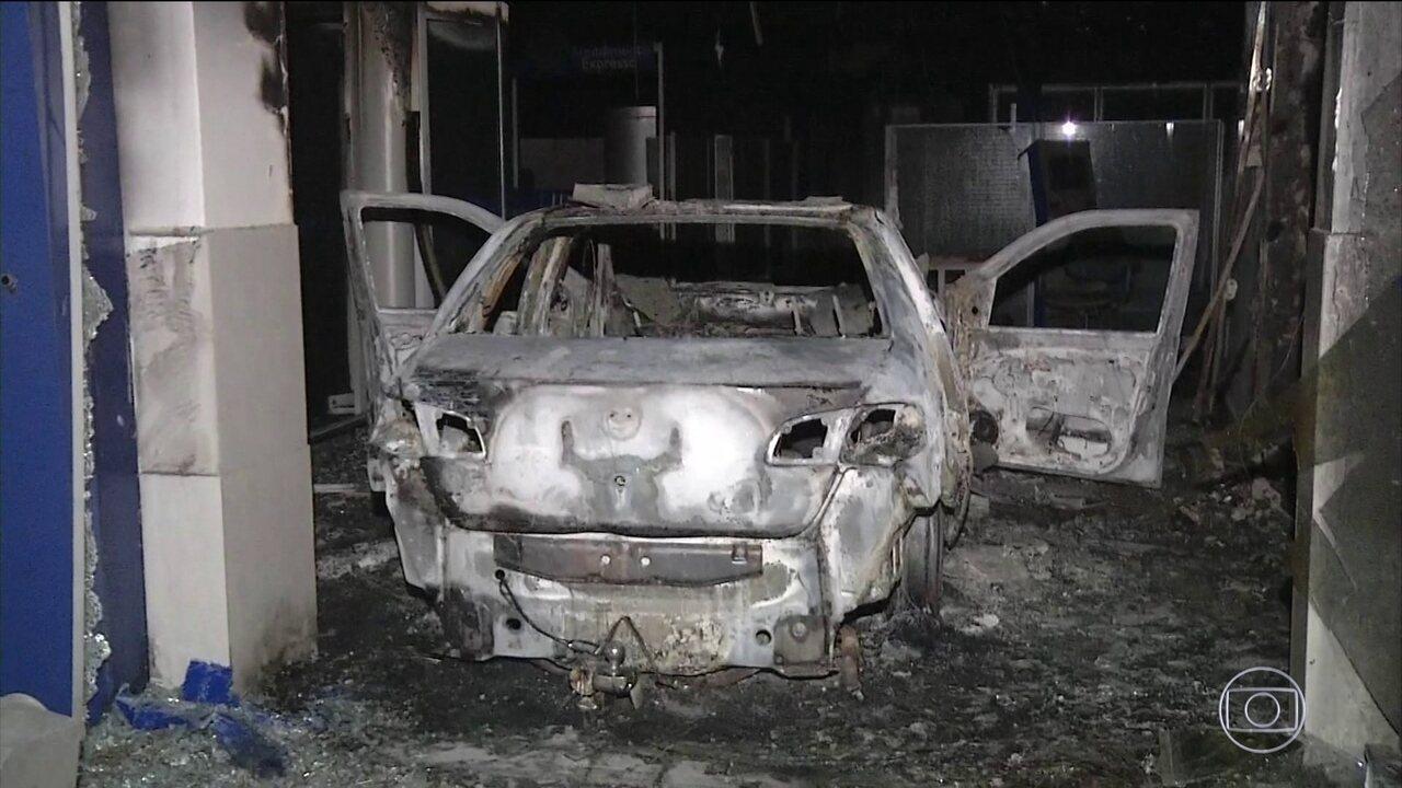 Bandidos fazem novos ataques em Fortaleza e na região metropolitana