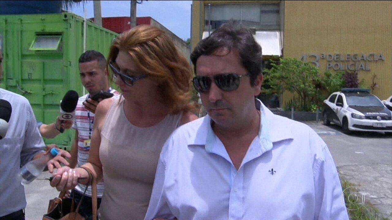 Suspeito de bater na mulher, filho do presidente da Câmara do Rio se entrega à polícia