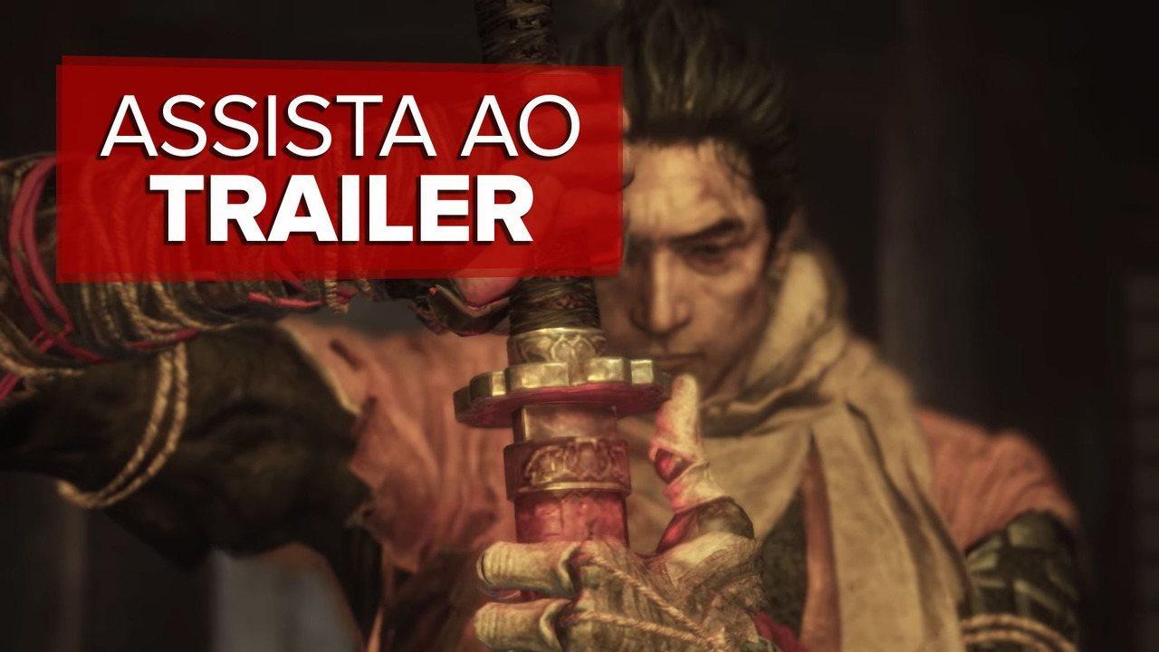 Veja o trailer de 'Sekiro: Shadows die twice'