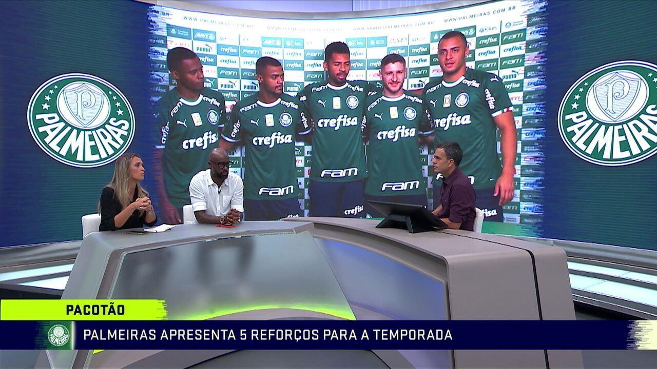 Comentaristas analisam a base do Palmeiras:
