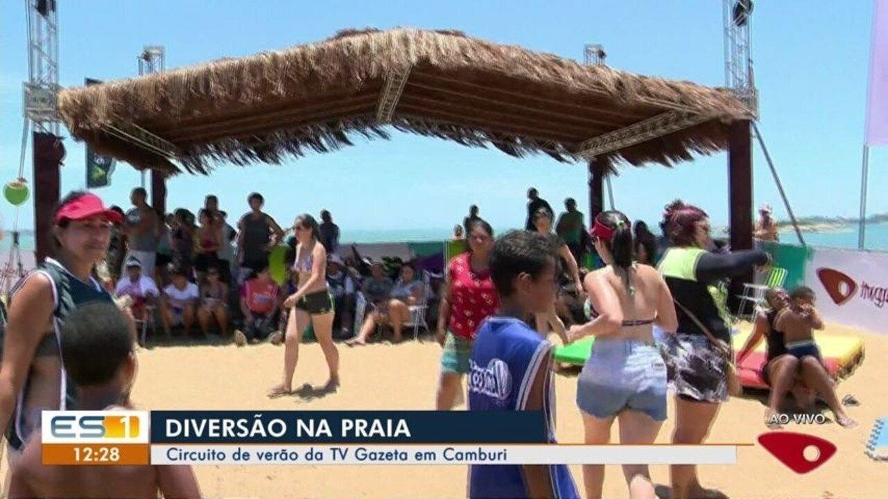 Circuito de Verão da TV Gazeta movimenta a Praia de Camburi, em Vitória