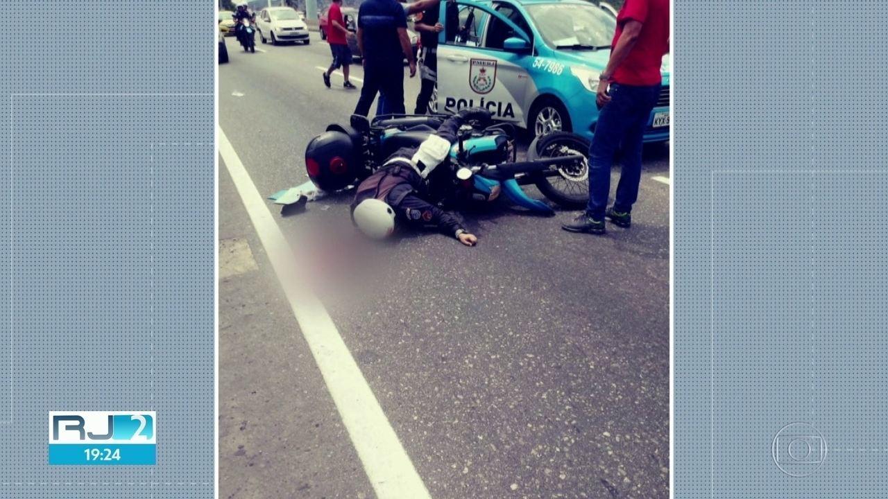 PM é baleado na Linha Amarela tentando impedir um assalto e está em estado grave