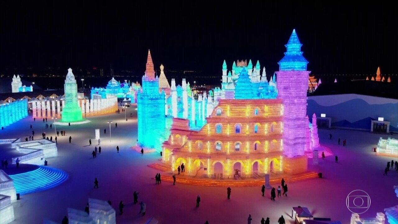 Começa o maior festival de gelo e neve do mundo