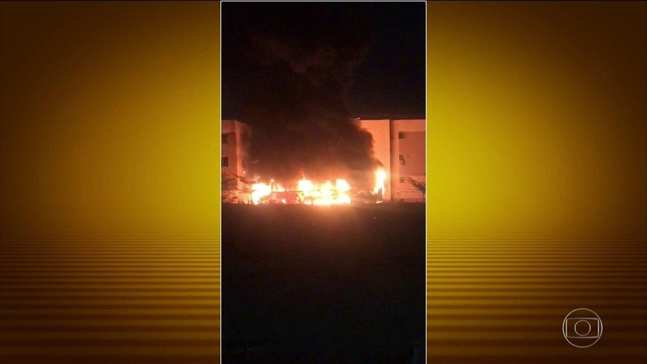 Ceará tem sexta noite consecutiva de ataques de criminosos