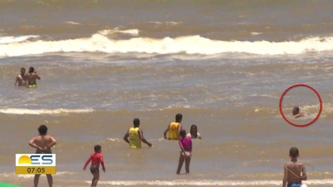Com movimento em praias, aumenta risco de afogamentos, no ES