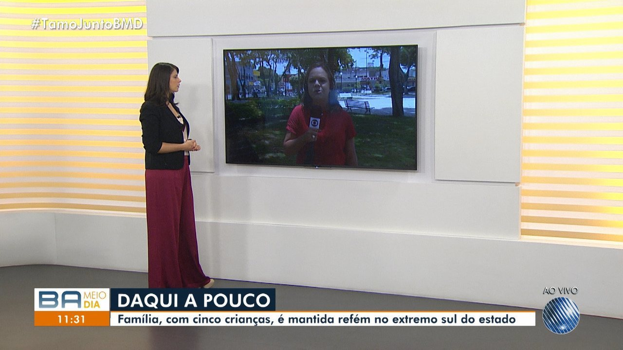 Família com 10 pessoas é mantida refém em Prado, no sul do estado