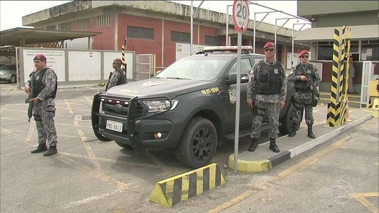 Ceará recebe reforço de agentes da Força Nacional de Segurança