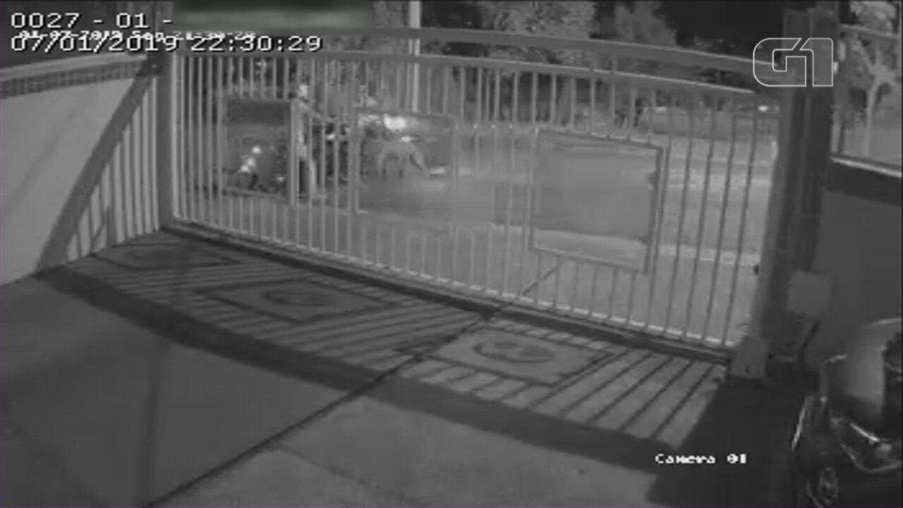 Ladrões roubam moto em menos de 40 segundos em Sorocaba