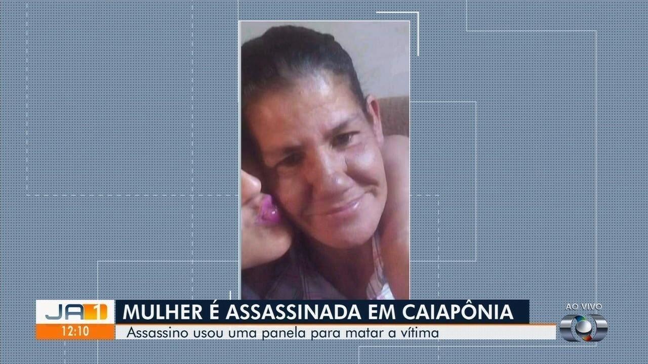 Mulher é morta com golpes de panela, em Caiapônia.