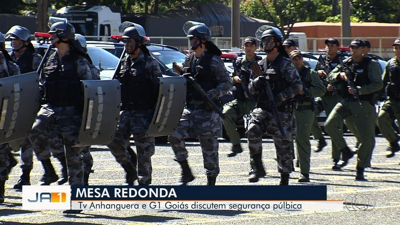 G1 e TV Anhanguera realizam sabatina com novos comandos das forças policiais e bombeiros