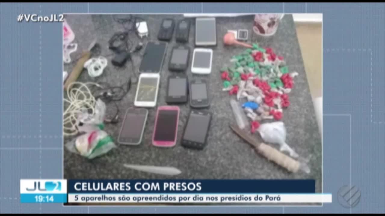 Em 2018, mais de 2 mil celulares foram apreendidos em presídios no Pará, diz Susipe