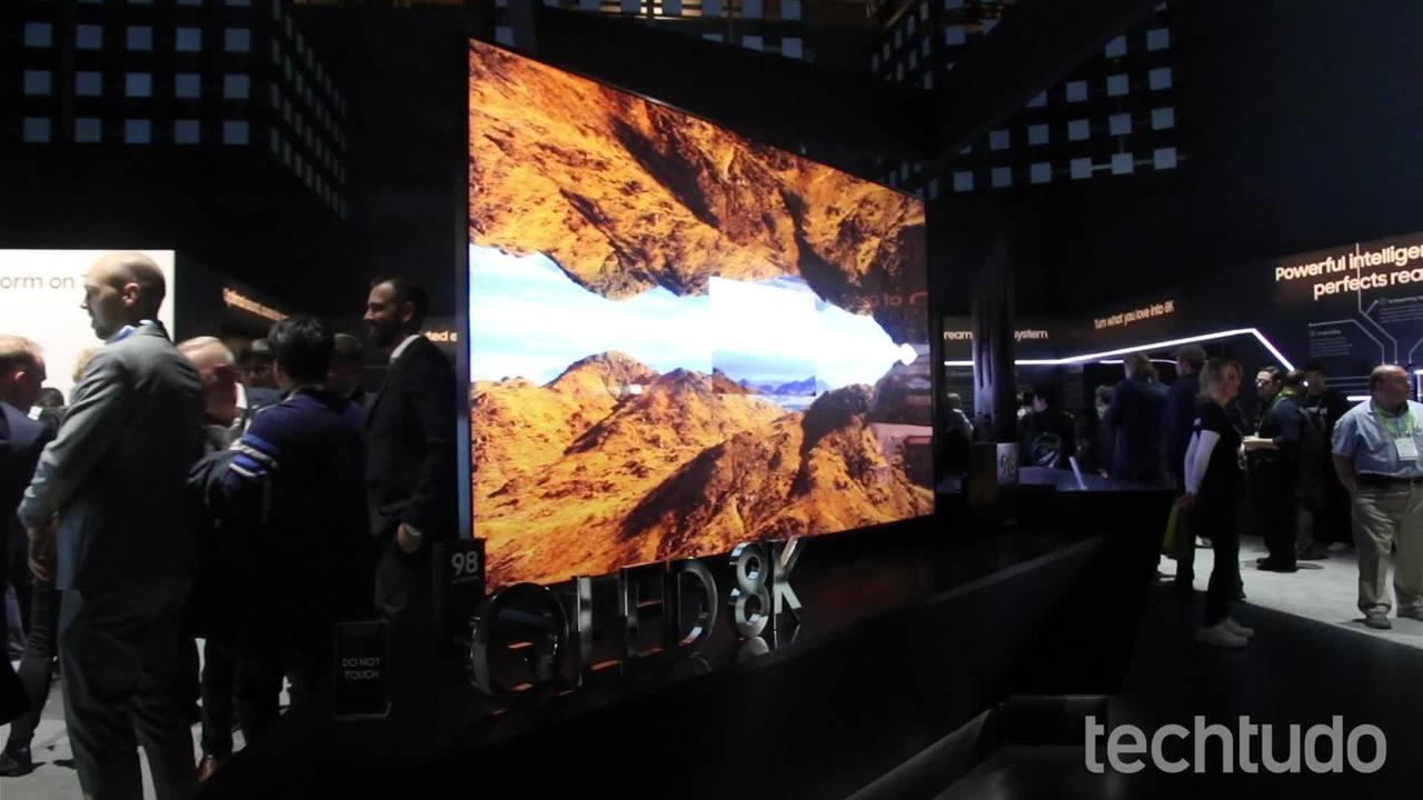 QLED 8K de 98 polegadas: conheça a maior TV da linha da Samsung