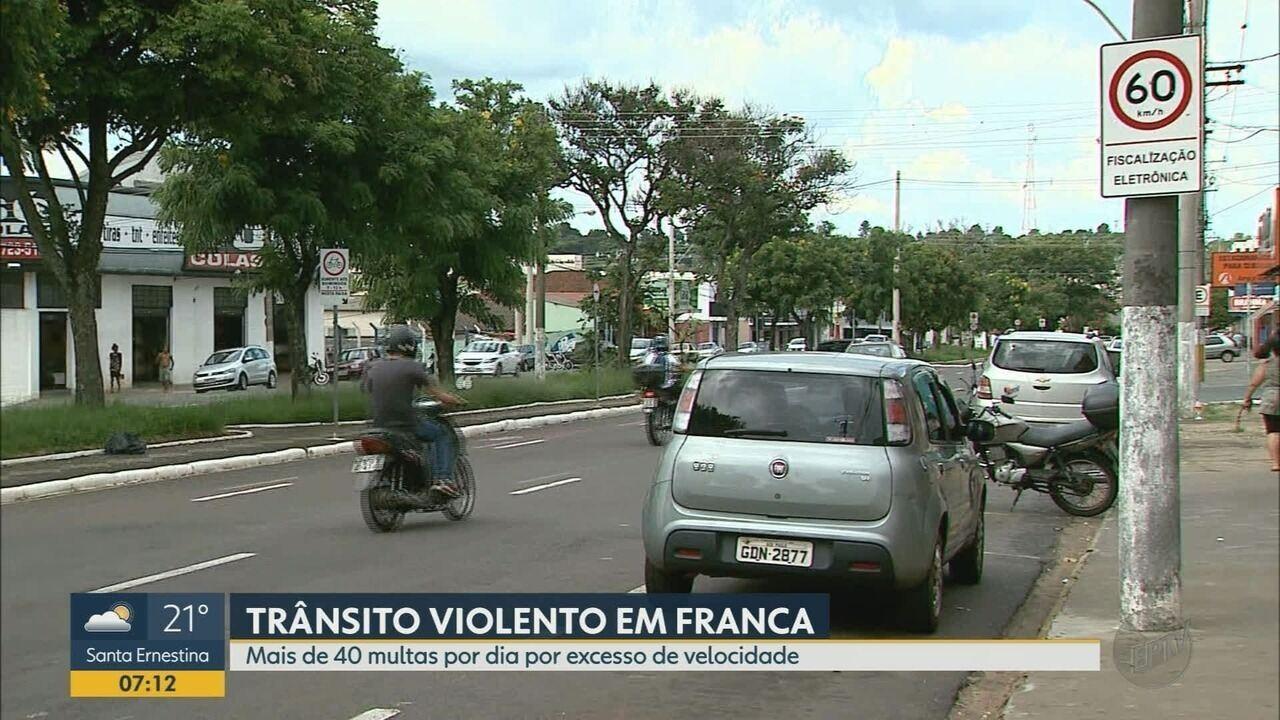 Número de mortes no trânsito aumenta em Franca, SP