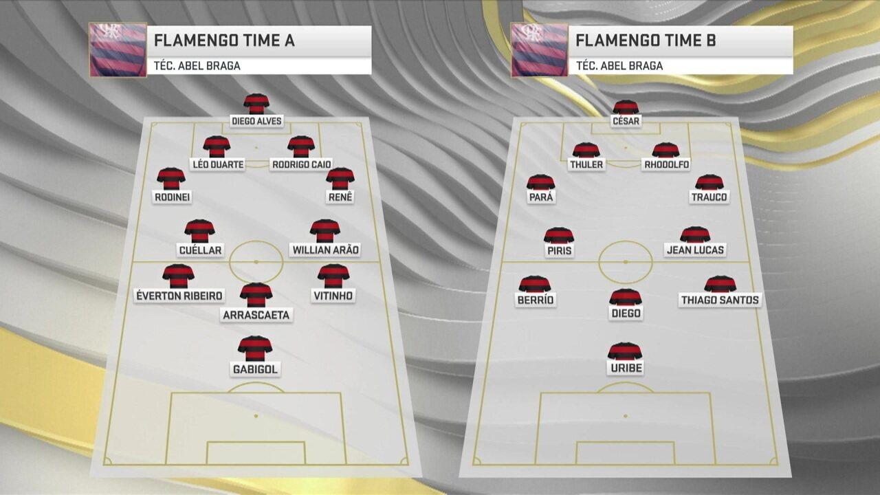 Com novos reforços, Seleção projeta possíveis esquemas táticos do Flamengo