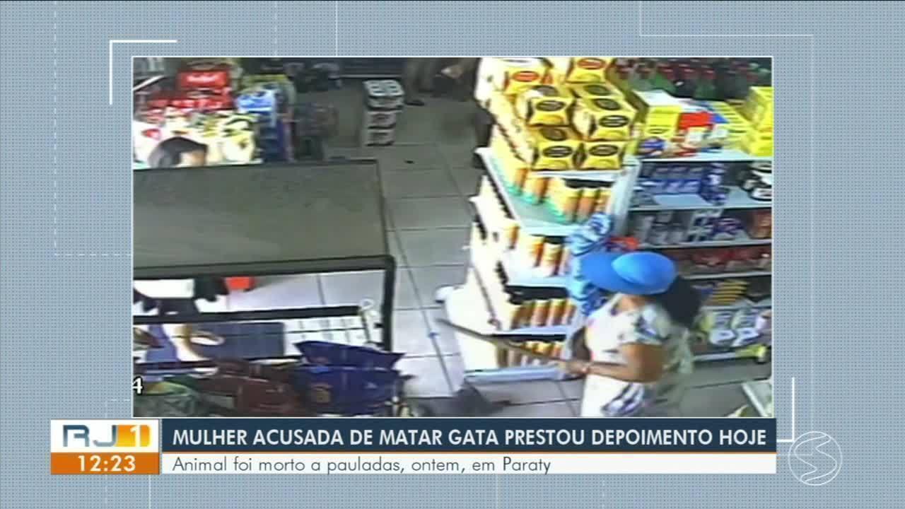 Polícia Civil encontra idosa que matou gato a pauladas dentro de mercado em Paraty