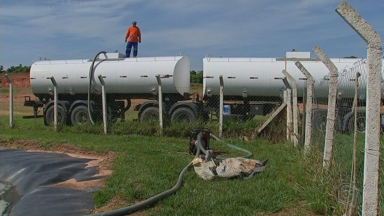 Empresa começa retirada de chorume em aterro sanitário de Bauru