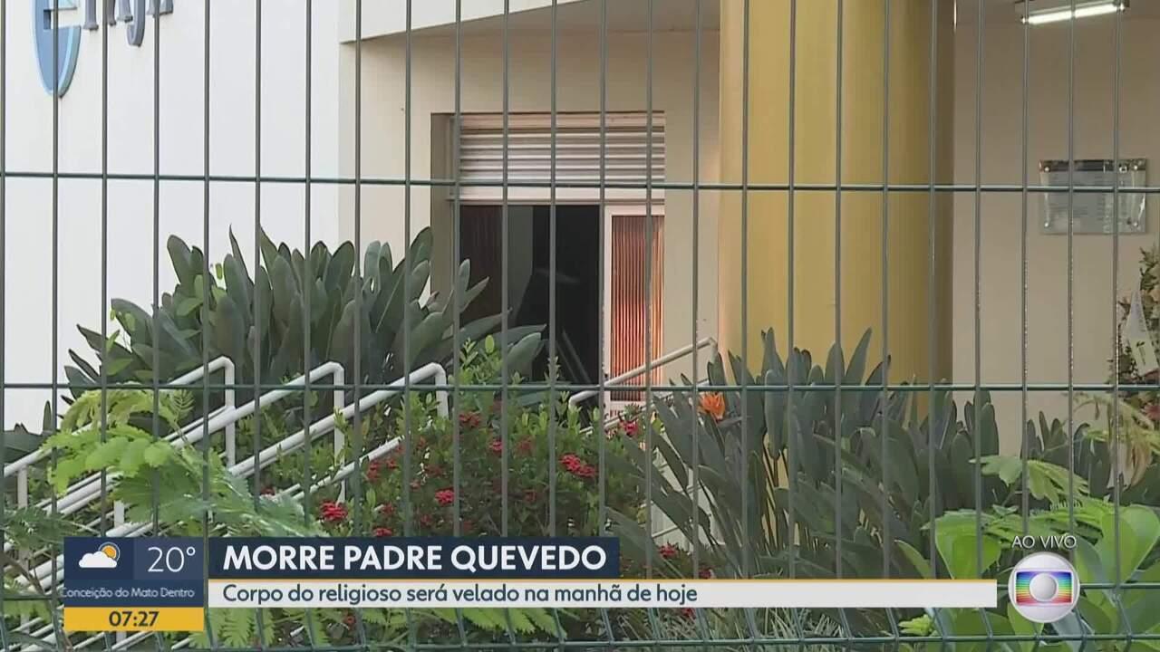 Padre Quevedo será velado e enterrado em Belo Horizonte nesta quinta-feira