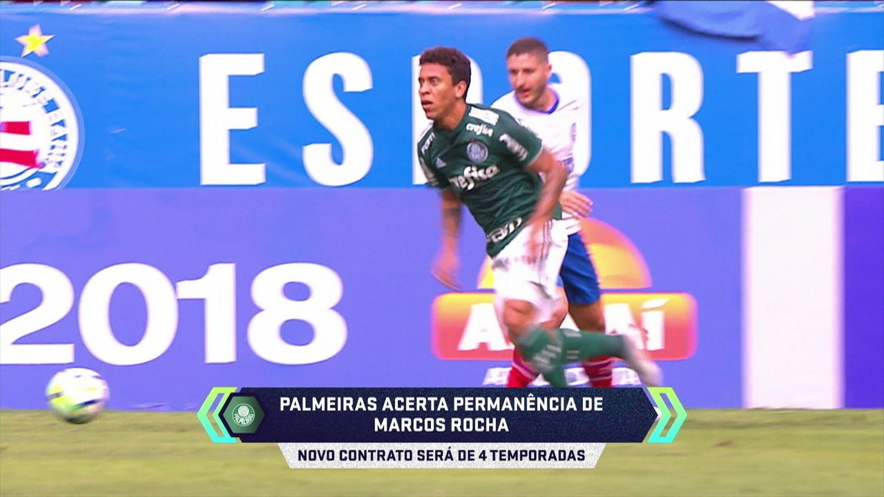 Central do mercado: Marcos Rocha acerta permanência no Palmeiras