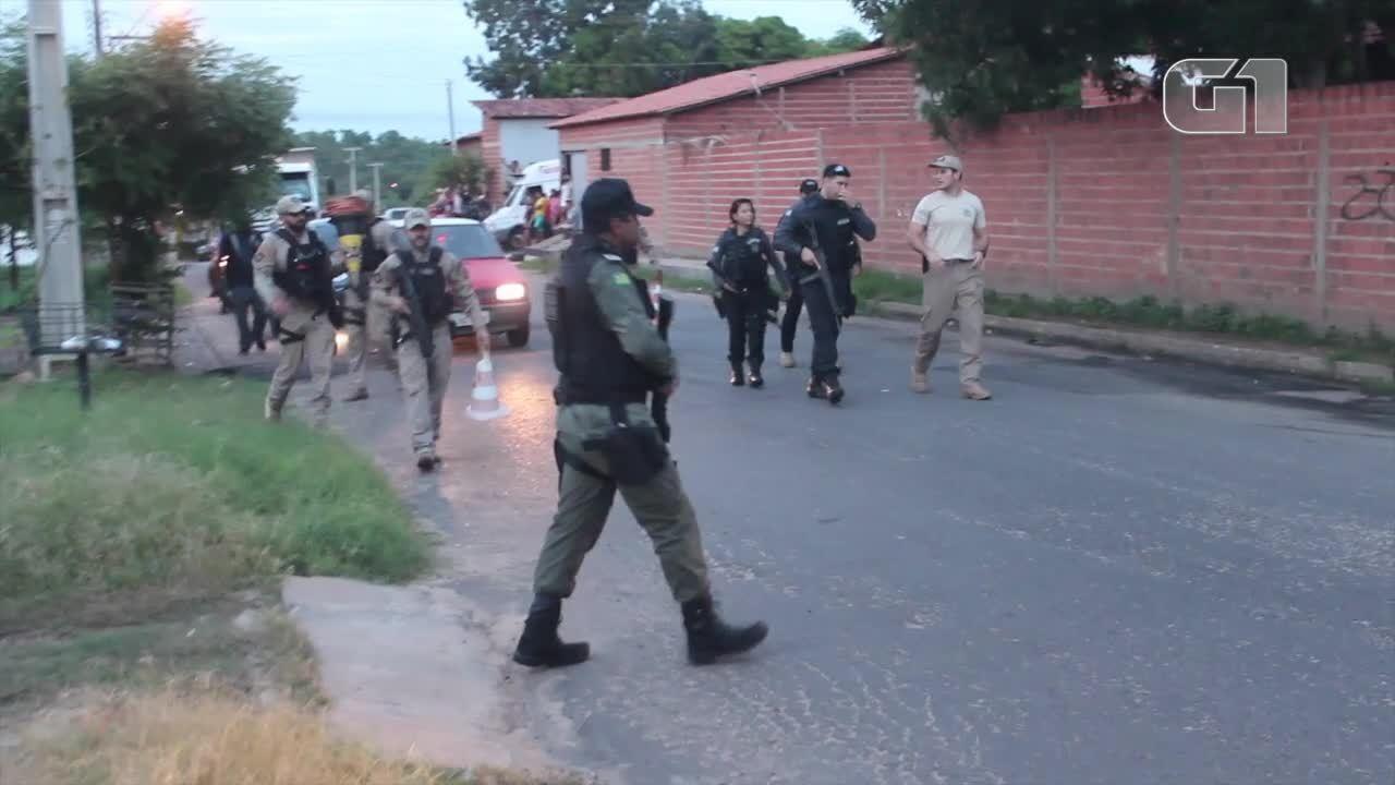 Operação visa o combate a criminalidade em bairros perigosos