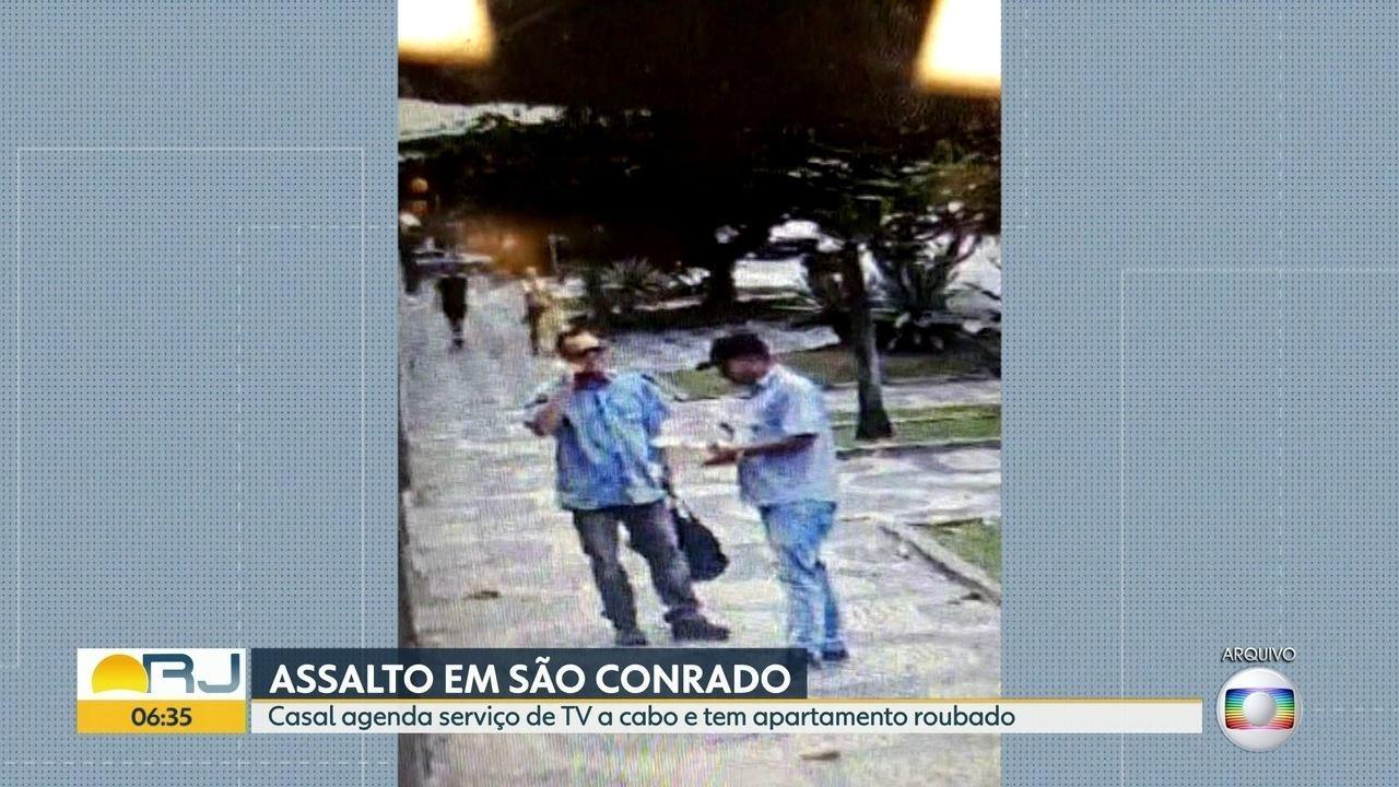 Bandidos se disfarçam de técnicos de TV a cabo para cometer assaltos em apartamentos