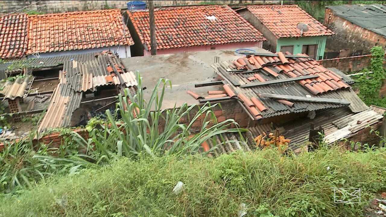 Defesa Civil classifica de 'alto risco' mais de 2 mil residências em São Luís