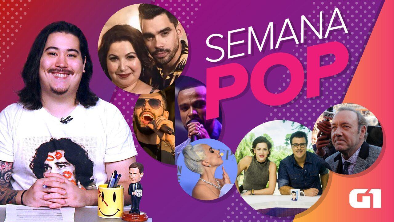 Semana Pop: treta de Alexandre Pires e Gustavo Lima, Jenifer e fim do Video Show