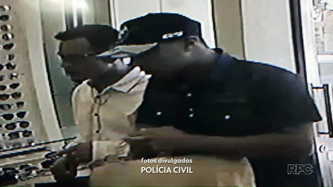 Ladrões roubam uma joalheria em Maringá
