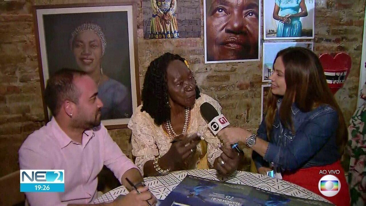 Livro e exposição iniciam celebrações de 75 anos de Lia de Itamaracá