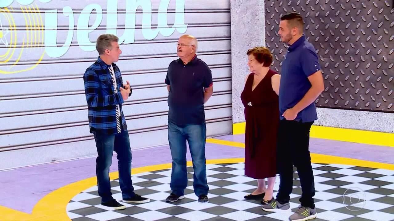 Luciano recebe Seu João e falam sobre os acontecimentos após o Lata Velha
