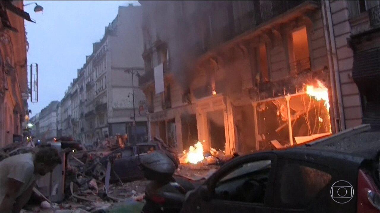 Forte explosão em padaria de Paris deixa mais de 40 pessoas feridas