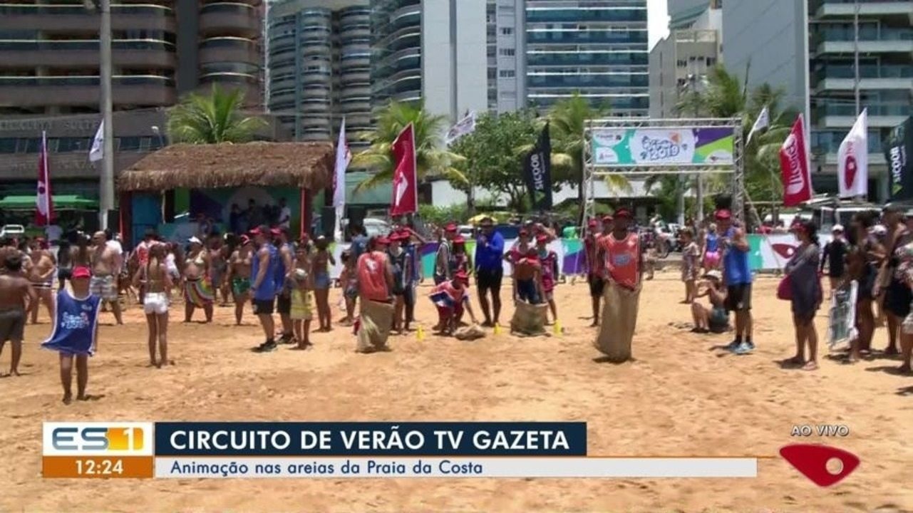 Circuito de Verão da TV Gazeta chega em Vila Velha