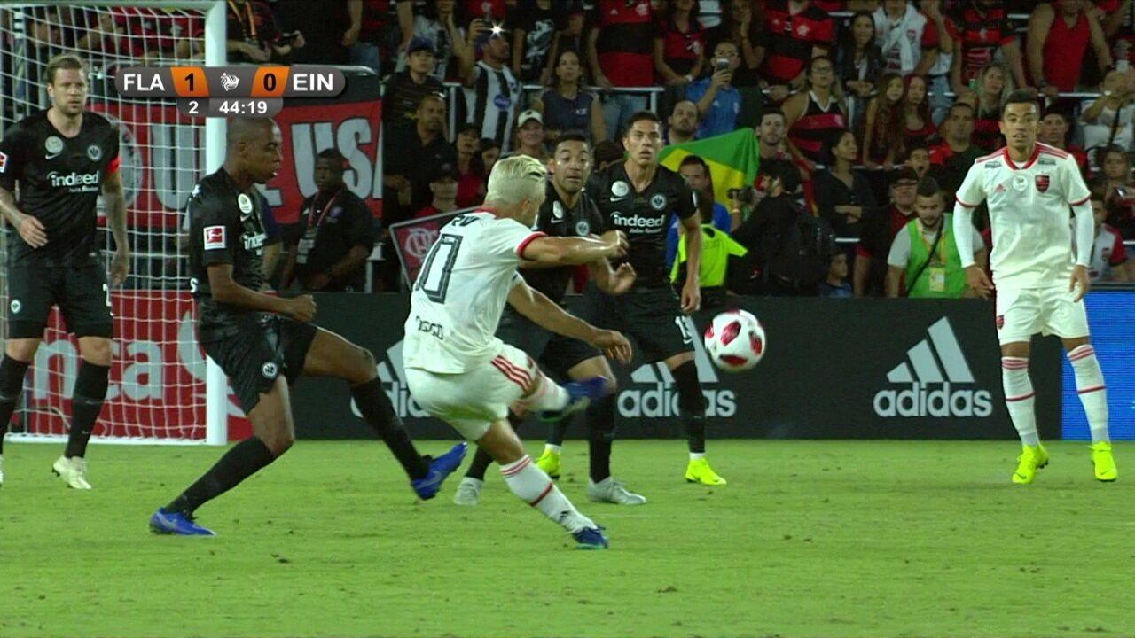 Melhores momentos de Flamengo 1 x 0 Eintracht Frankfurt pelo Torneio da Flórida