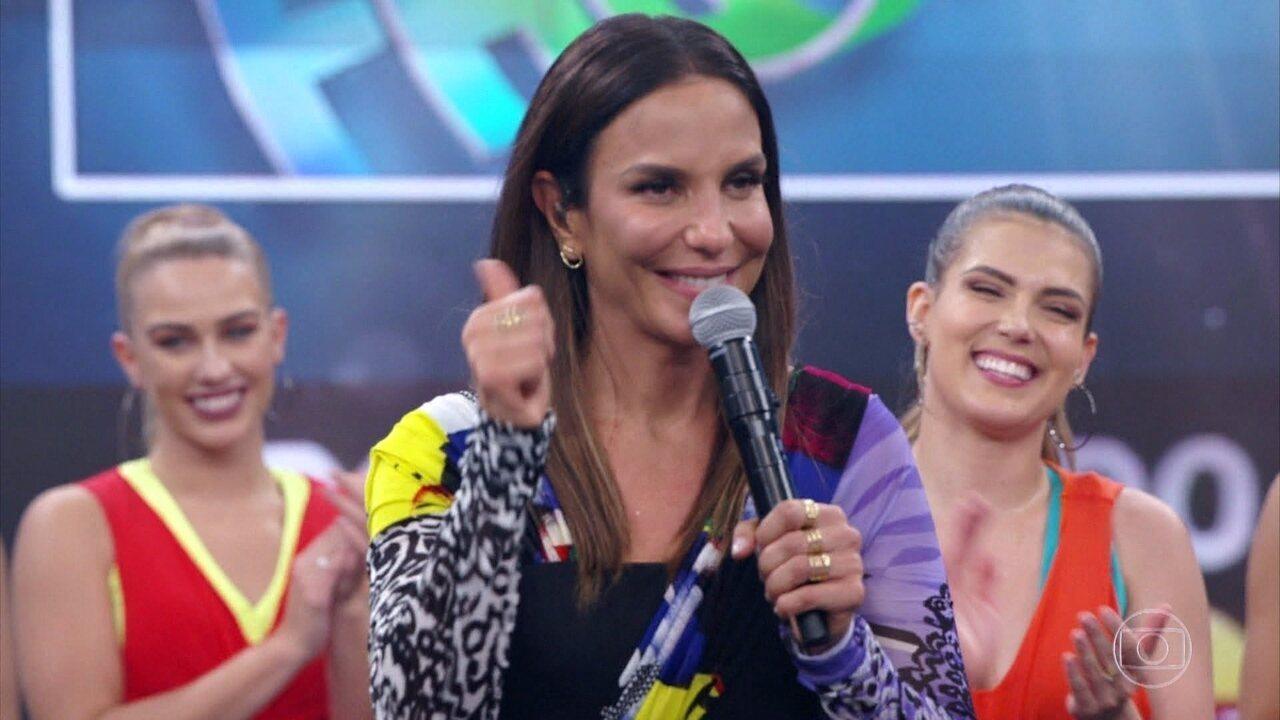 Relembre os prêmios que Ivete ganhou no 'Domingão'