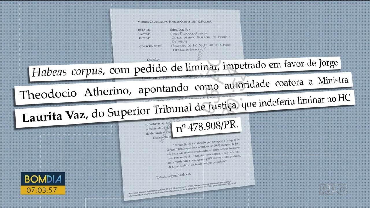 Presidente do STF concede habeas corpus a empresário preso na Lava Jato