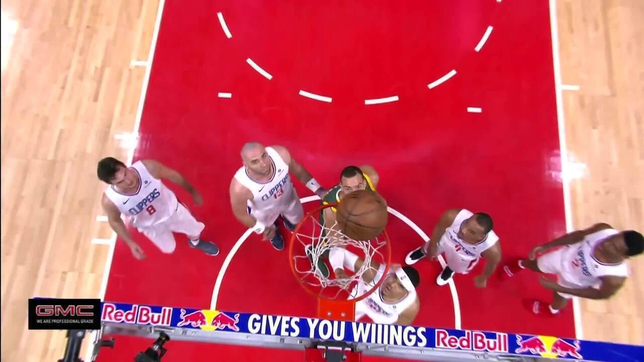Melhores momentos: Utah Jazz 129 x 109 Los Angeles Clippers