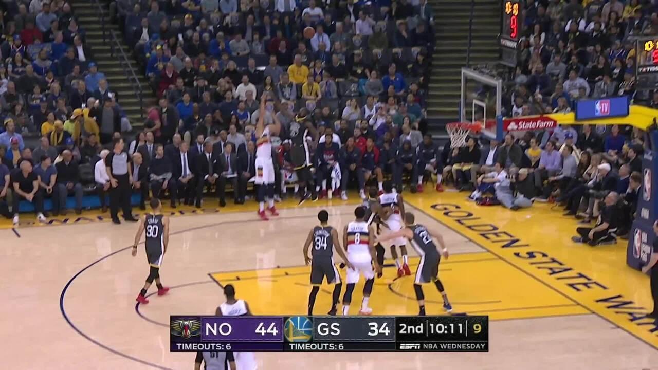 Melhores momentos: Golden State Warriors 147 x 140 New Orleans Pelicans