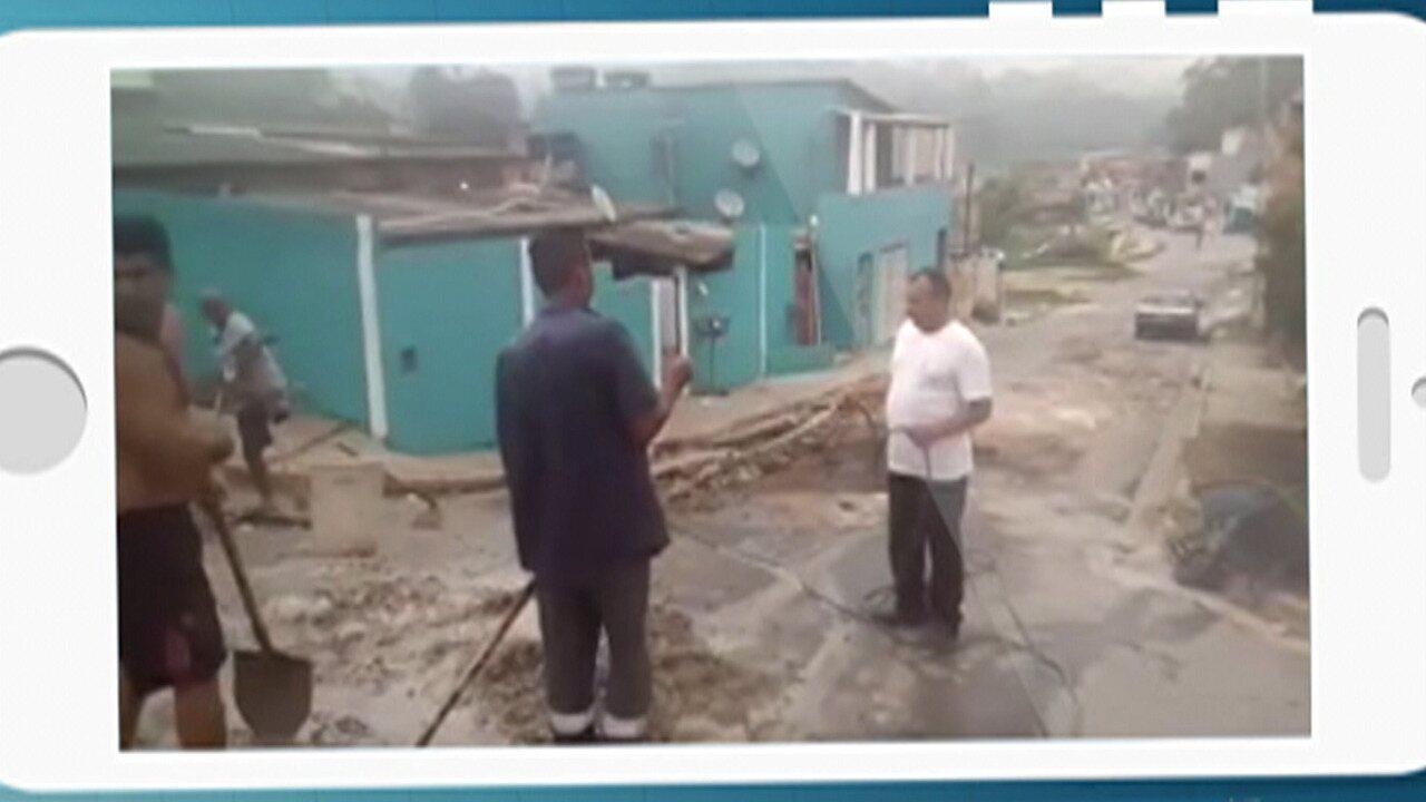 Moradores de Ferraz de Vasconcelos fazem obras com recursos próprios