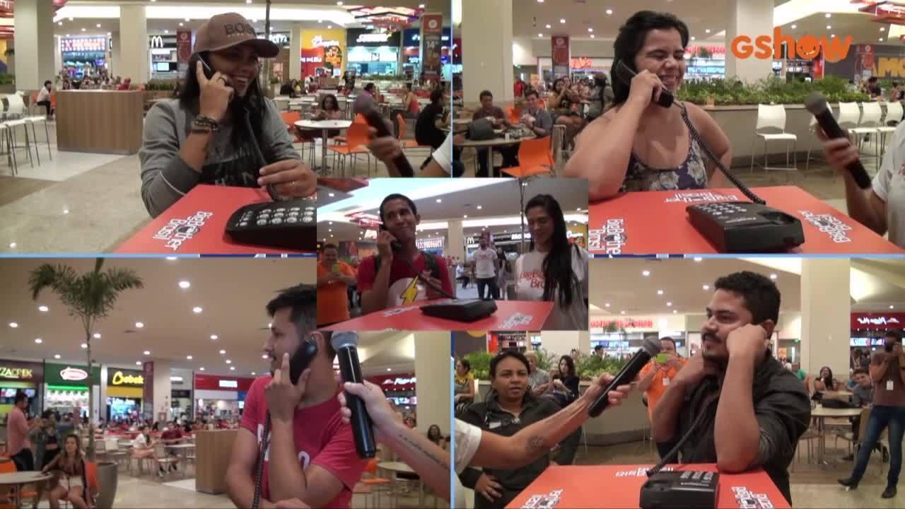 Ação BBB 19 em Fortaleza