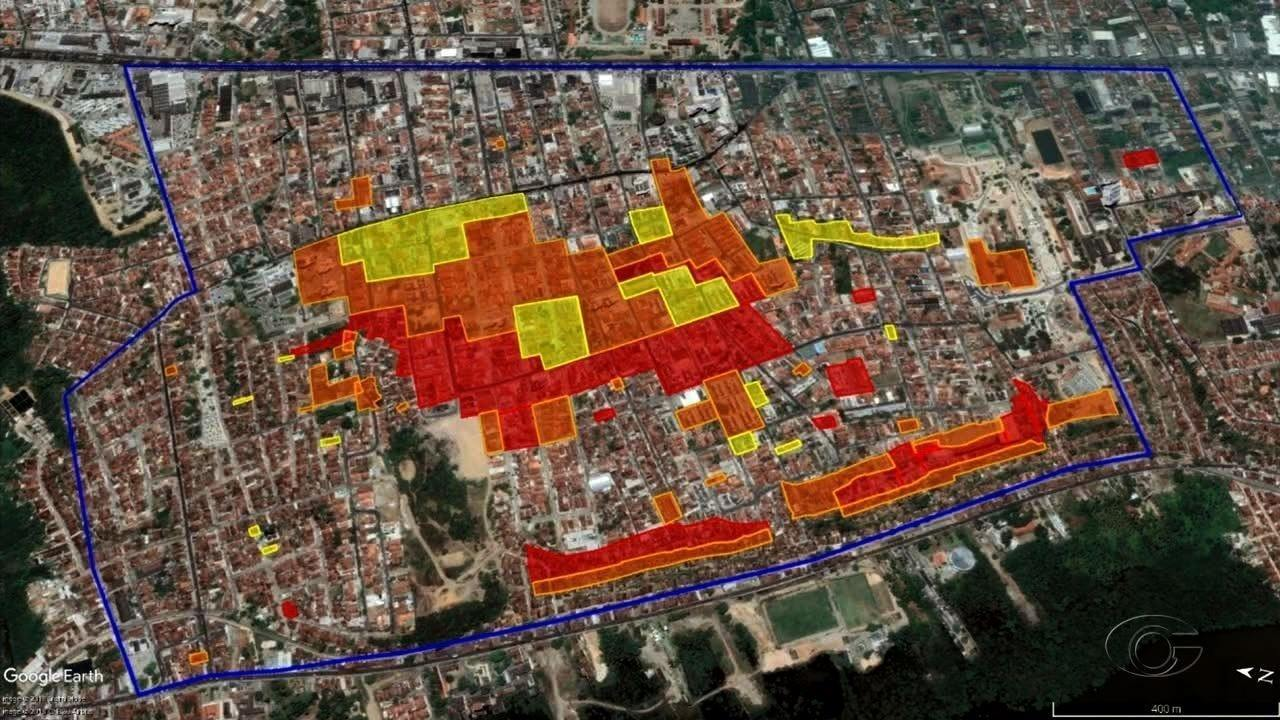 Simulação no Pinheiro, em Maceió, vai definir tempo de evacuação em caso de desastre