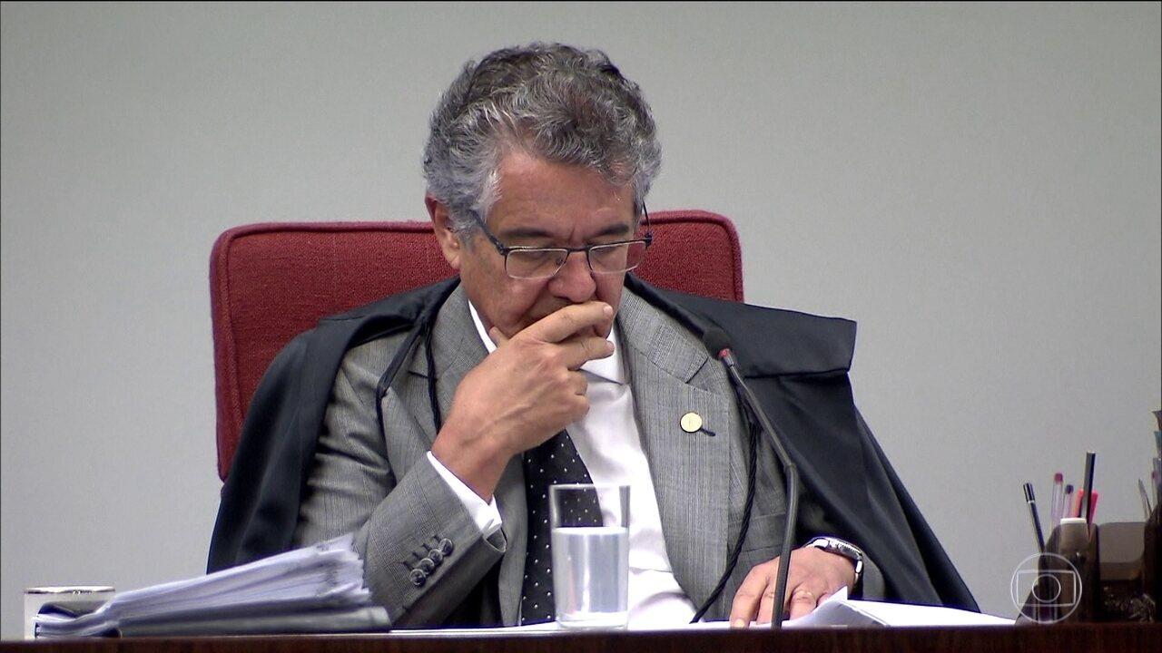 """Marco Aurélio afirma que """"tem remetido ao lixo"""" reclamações como de Fávio Bolsonaro"""