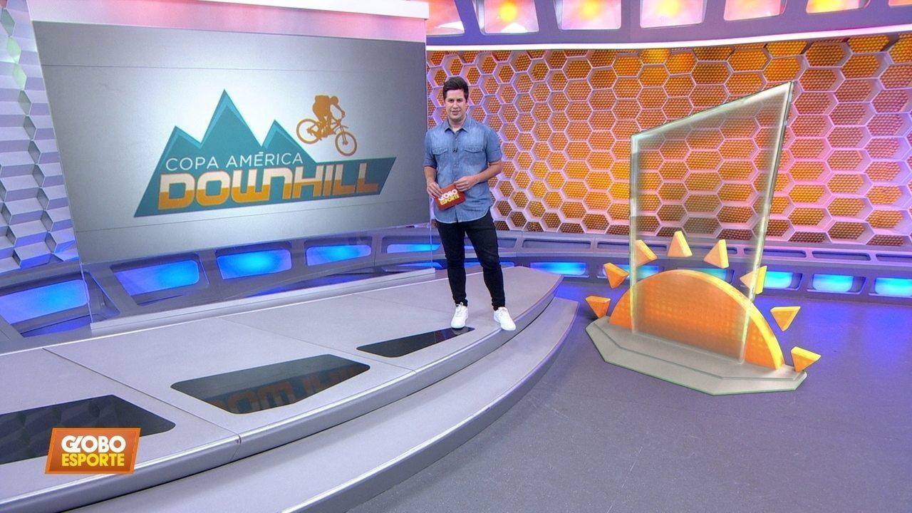 Paixão pelo ciclismo passa de geração a geração na Copa América de Downhill