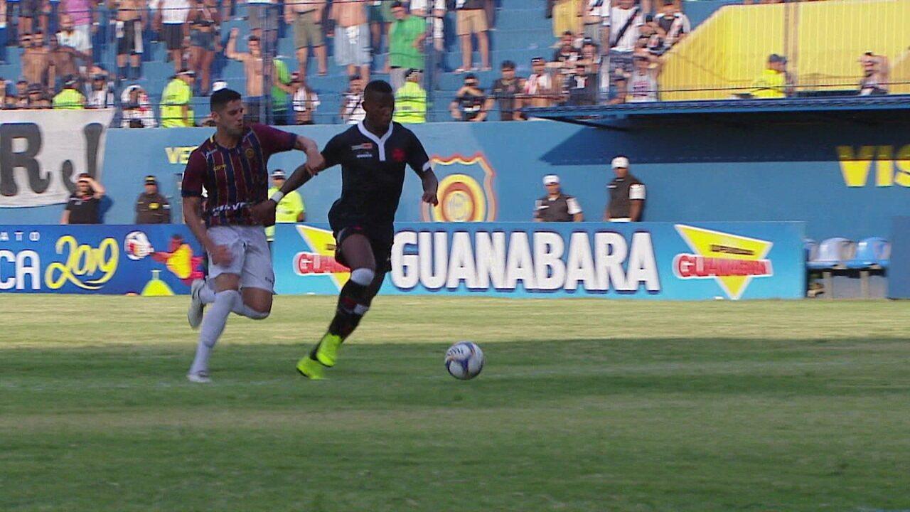 f007506c676c5 Melhores momentos  Madureira 0 x 1 Vasco pelo Campeonato Carioca