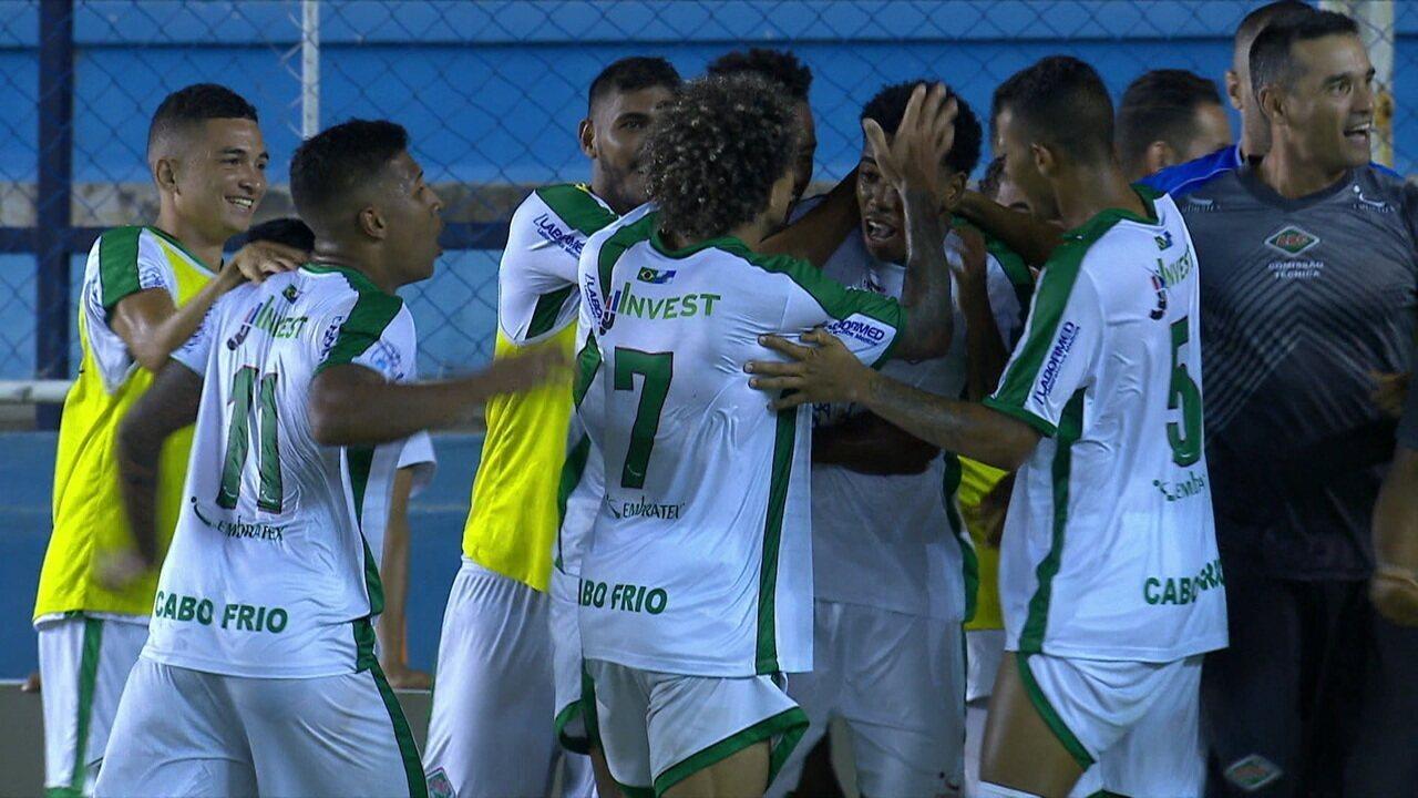 Melhores momentos: Cabofriense 3 x 1 Botafogo pelo Campeonato Carioca