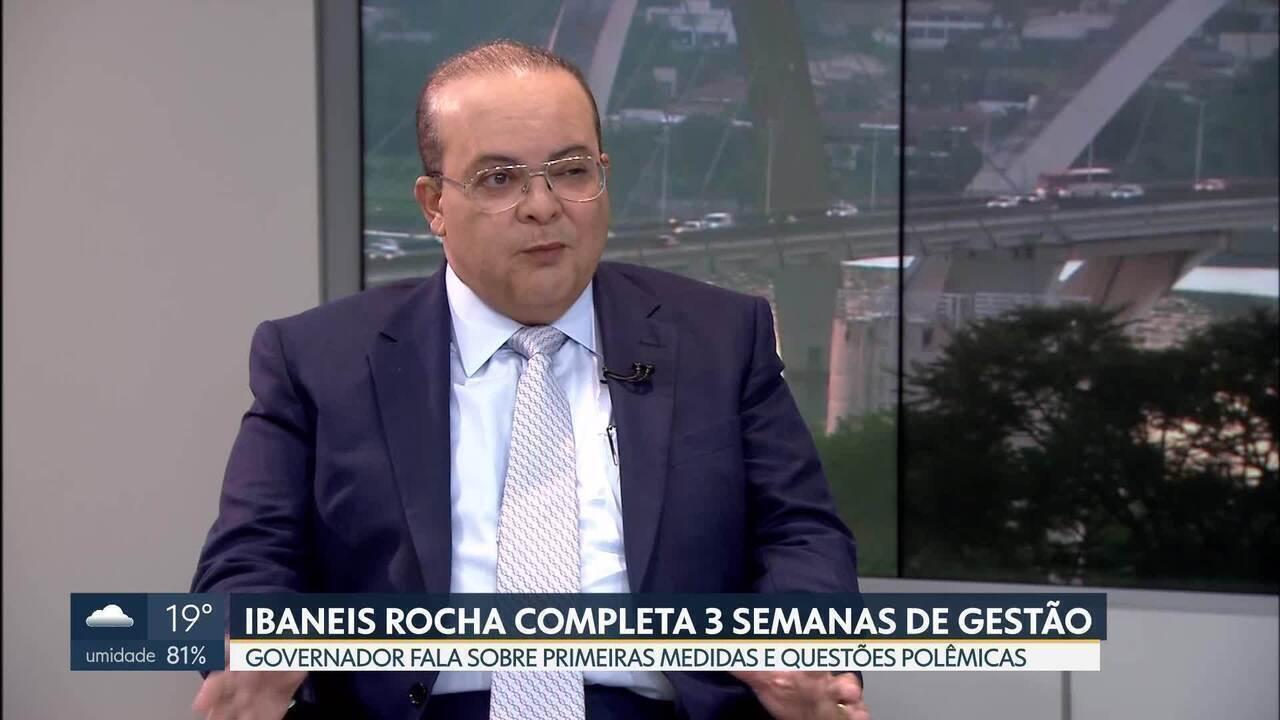 Ibaneis faz balanço sobre as três primeiras semanas de governo