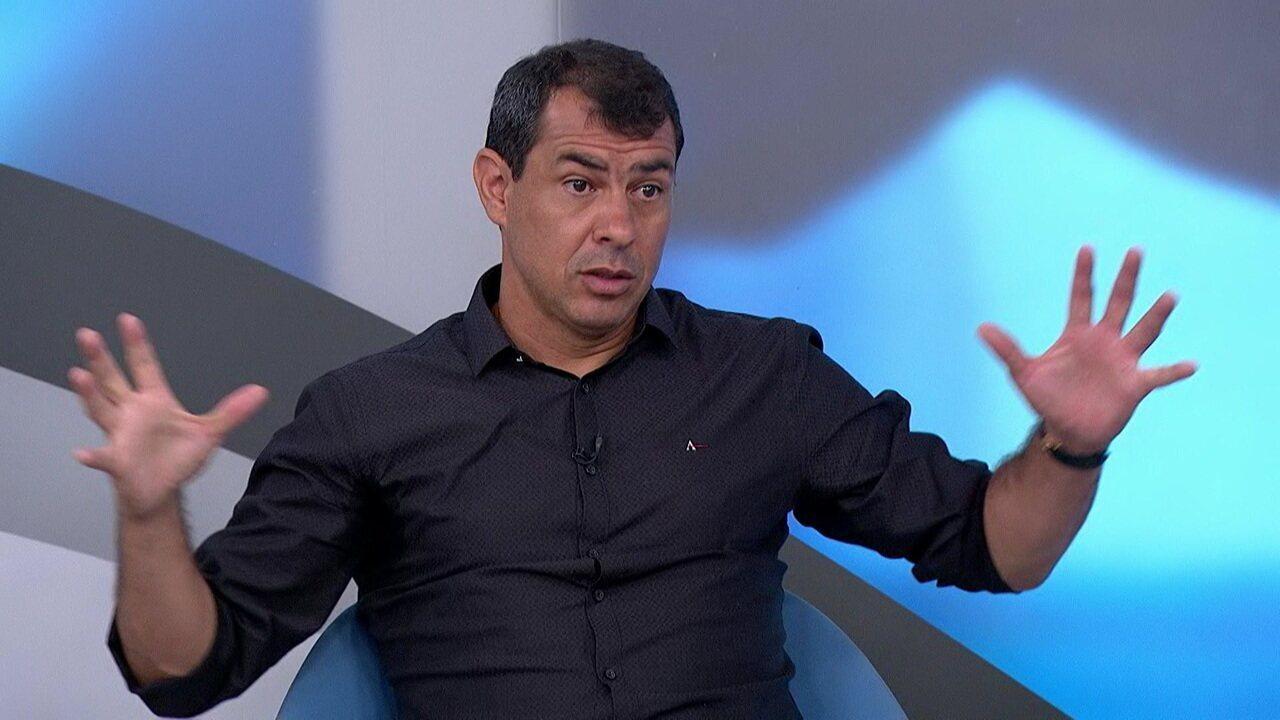 Carille fala sobre experiência na Arábia e cita sondagens para ser técnico de Sevilla e Bordeaux