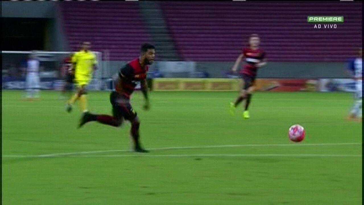 Melhores Momentos de Vitória-PE 0 x 2 Sport