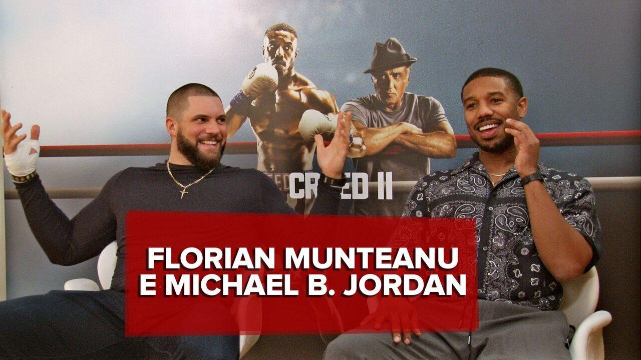 Michael B. Jordan e Florian Munteanu falam sobre 'Creed II' e representatividade