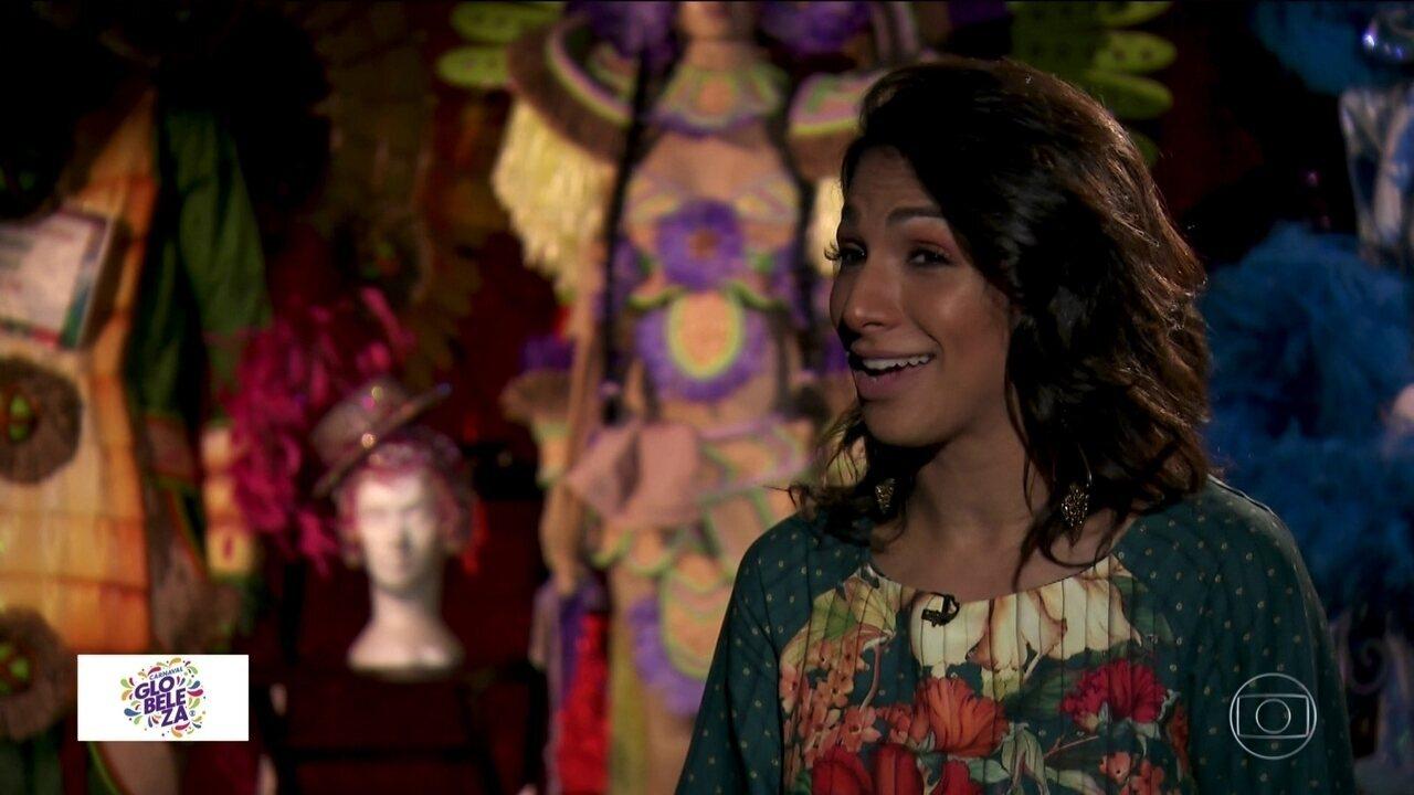 Carnaval inesquecível na Mocidade Alegre é de uma bailarina que tinha medo de palhaço